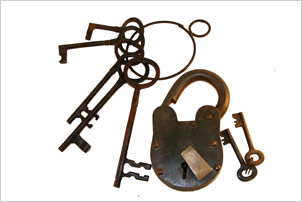 Antique Locks & Keys